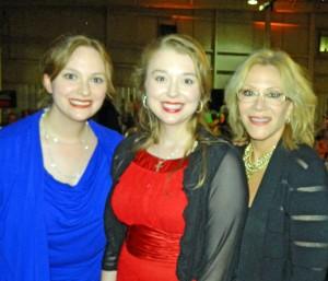 Carrie, Stacie, and Aissa Wayne
